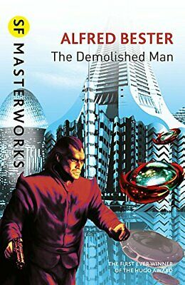 The Demolished Man (S.F. MASTERWORKS) by Bester, Alfred Paperback Book The Cheap