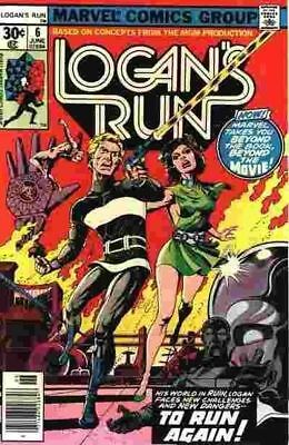 Logan's Run #6 1St Solo Thanos Story Vf