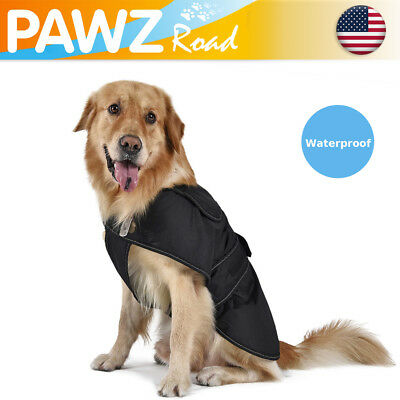 Large Dog Coat Reflective Small Vest With Ring Waterproof Clothes Winter Outdoor