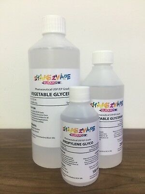 Propylene Glycol  (PG) Vape liquid DIY Purest Premium Liquid available