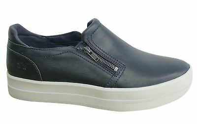 d9a4536d2996a WOMEN'S TIMBERLAND MAYLISS Slip-On Shoes Black Snake-Embossed Suede ...
