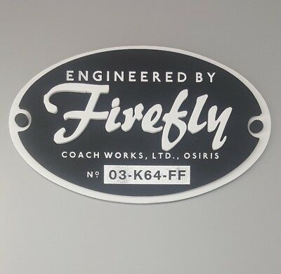 """Loot Crate Engineered By Firefly 8"""" FOAM PLAQUE Serenity Cargo BRAND NEW Magnet"""