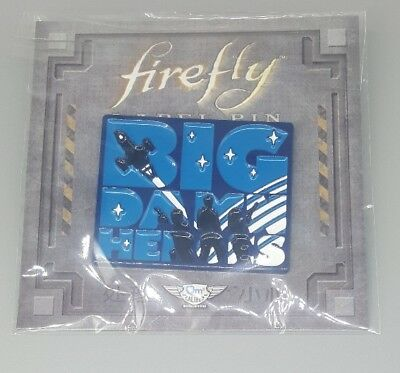 Firefly BIG DAMN HEROES PIN Loot Crate Cargo Exclusive Still Flying Box NEW