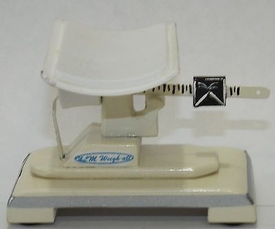 Doll miniature handcrafted Medical infant scale 1/4th or 1/6th scale