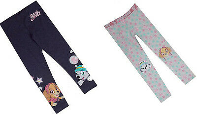 New Girls Paw Patrol Skye Everest Leggings 2 Designs 12 Months - 8 Years