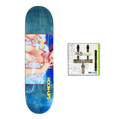 Hook Ups - Strawberry Shortcake (Assorted) Skateboard Deck + Sk8ology Wall Mount