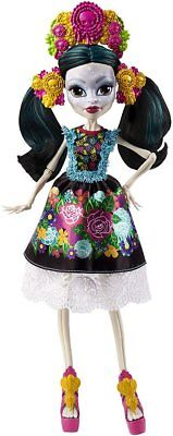 Mattel Monster High DPH48 Skelita Calaveras Collector Puppe, mexikanischer Stil