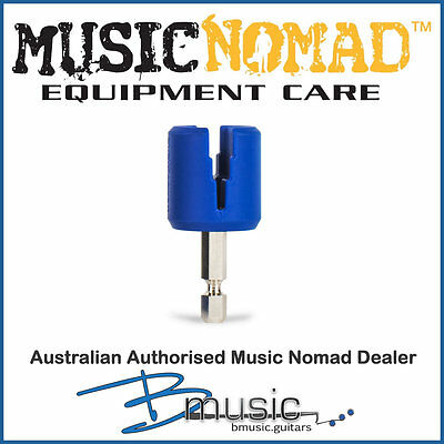 Music Nomad GRIP Bit - Peg Winder Attachment - Rubber Lined, Scratch Free Design