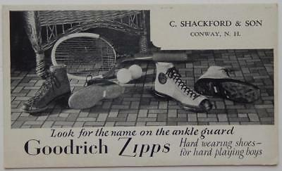 Ad Blotter Goodrich Zipps Shoes Sneakers Shackford & Son Conway NH