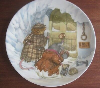 Wedgwood WIND in the WILLOWS Eric Kincaid THE WILD WOOD Collector DISPLAY PLATE