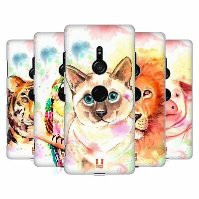 Head Case Designs Watercoloured Animals Hard Back Case For Sony Phones 1