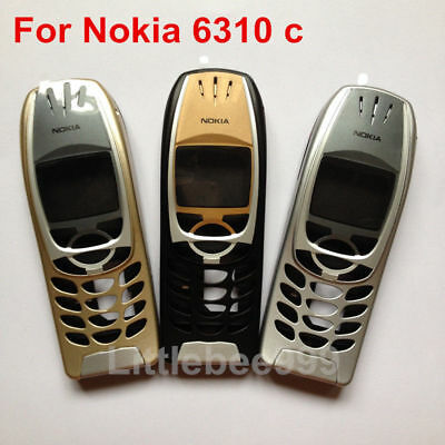 Brand New housing case cover front frame for Nokia 6310 phone black,silver,gold