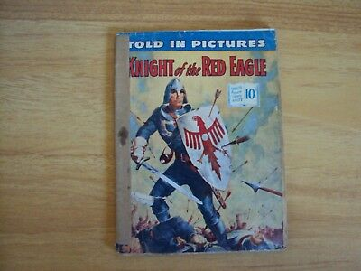 """Vintage Original 1957 Told in Pictures Comic """" Knight of The Red Knight"""""""