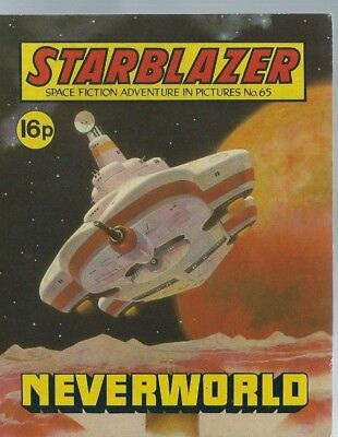 Neverworld,starblazer Space Fiction Adventure In Pictures,comic,no.65