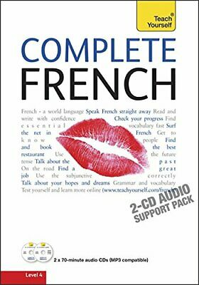 Complete French Audio Support: Teach Yourself by Graham, Gaelle CD-Audio Book