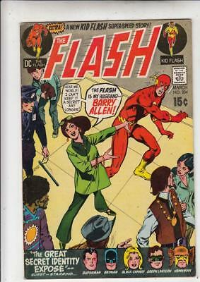 Flash  204  strict  VF/NM- Justice Leage of America (Superman, Batman, Black Ca