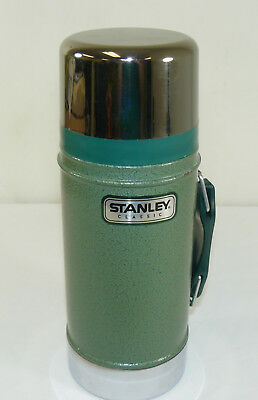 Stanley Classic Wide Mouth Bottle Thermos 24oz Stainless Aladdin Industries