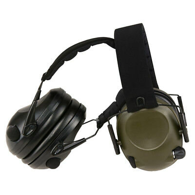Electronic Active Hearing Protection, Aux Port ,Helmet Compatible,Mil-Tec