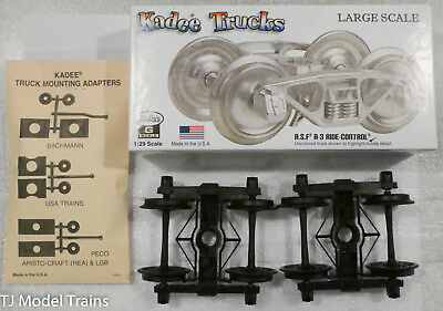 Kadee G #972 Arch Bar (Metal Trucks, Black) (A.S.F A-3 Ride Control)