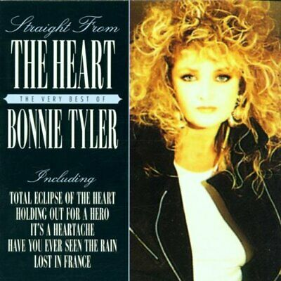 Tyler, Bonnie - Straight from the Heart - Tyler, Bonnie CD GCVG The Cheap Fast