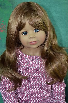 Masterpiece Dolls Cutie Patootie Brunette Wig Fits Up To 19-inch Head, New