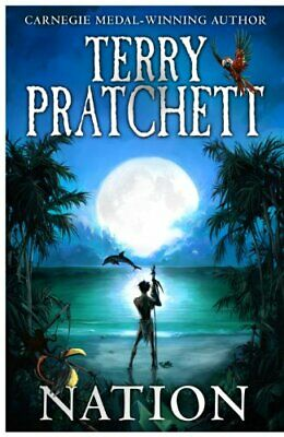 Nation by Pratchett, Terry Hardback Book The Cheap Fast Free Post