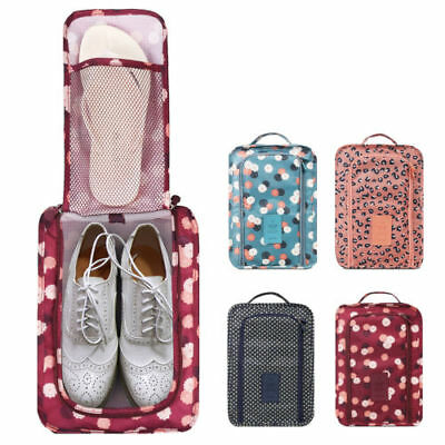 Cute Pattern Shoes Storage Bag Travel Slippers Organizer Pouch 6 Style to Choose