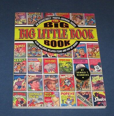 The Big Big Little Book 2004 Softcover Book  Overstreet Photo-Journal Guide