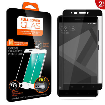 For Xiaomi Redmi 4 4X 3D Full Cover 9H Tempered Glass Screen Protector Film NEW