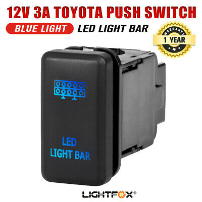 LED Light Bar Push Rocker Switch Suitable for TOYOTA Hilux Landcruiser OEM
