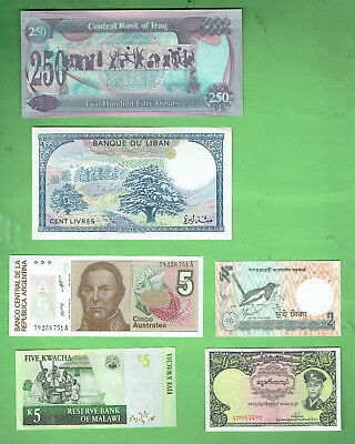 #d343.  5.   Ten  World  Banknotes