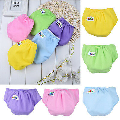 Washable Baby Pocket Nappy Cloth Reusable Diaper Cover Wrap Reusable Adjustable