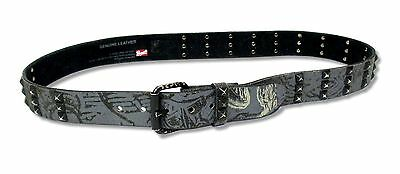 Lamb Of God Studded Leather Belt Xl New Nwt Rare