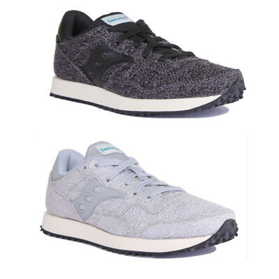 SAUCONY DXN VINTAGE Trainer In Grey Blue RRP £74.95 **BNWT