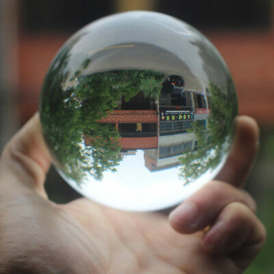30/35/40mm Clear Glass Crystal Ball Healing Sphere Photography Props Gifts Hot