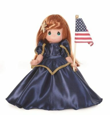"Precious Moments Disney The Red, White and Blue Ariel 12"" Doll"