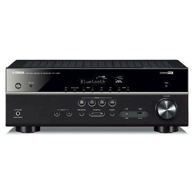 Yamaha RX-V385BL 5.1 Channel AV Receiver with YPAO Automatic Room Calibration