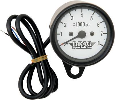 """DS Mini Electronic Tachometer with Y-Mount 2.4"""" Black White Face"""