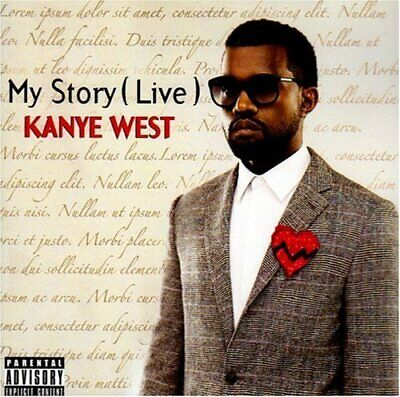 Kanye West - My Story [Live] - Kanye West CD LWVG The Cheap Fast Free Post The