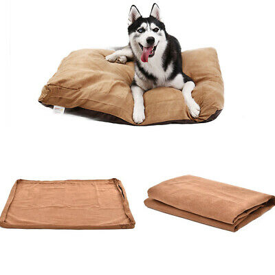 Pet Large Dog Cat Nesting Bed Cover Only Replacement Pup Washable Pad Size XL