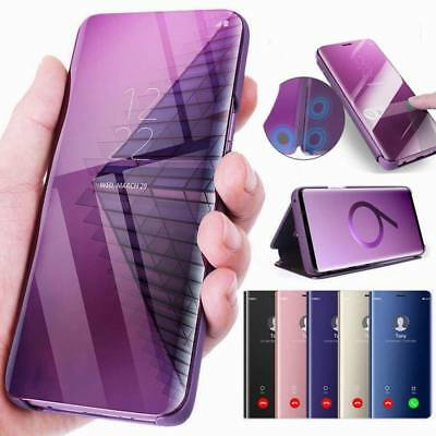 Luxury Touch Mirror Smart Flip Stand Case Cover For Samsung Galaxy Note 10 S8 +