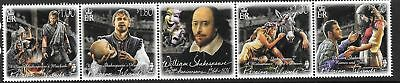 PITCAIRN ISLANDS 2016 400th ANNIV OF SHAKESPEARE MNH
