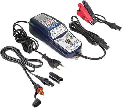 Tecmate Optimate 4 Dual Blue White Universal BMW Motorcycle Battery Charger