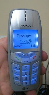 Vintage Nokia 2260 - Gray (AT&T) Cellular Phone