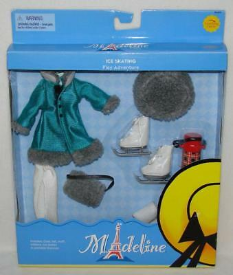 """Madeline 8"""" Doll Ice Skating Outfit Clothing Set New in Box!!"""
