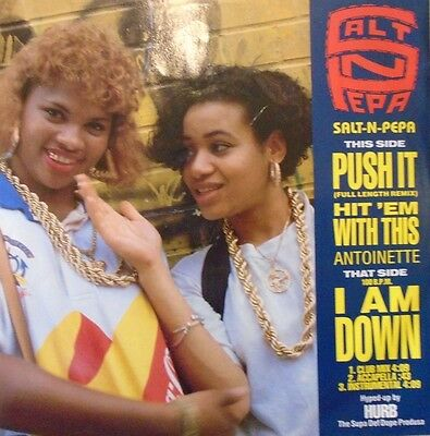 "SALT N PEPA - Push It ~ 12"" Single PS"