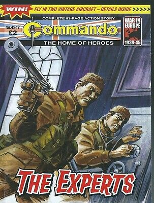 The Experts,commando The Home Of Heroes,no.4947,war Comic,2016
