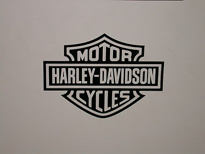 Harley Davidson vinyl Decal, adhesive graphic Sticker, for any flat surface