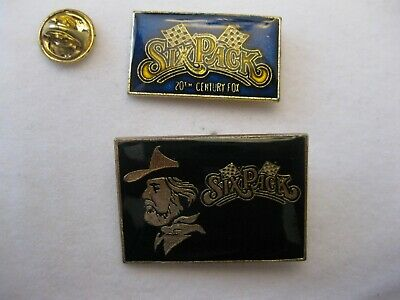 Rare Vintage Kenny Rogers Six Pack 1982 Movie Promo Pin Set Of 2 New