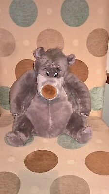 12 inch tall Genuine Disney Store Baloo the Bear of Disney Jungle Book soft toy